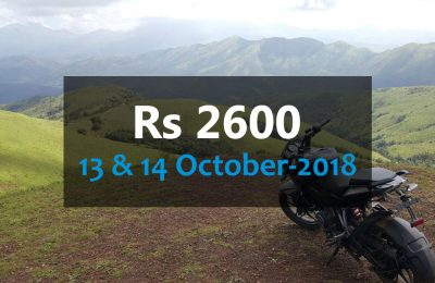 OffRoad Malnad – October, 2018